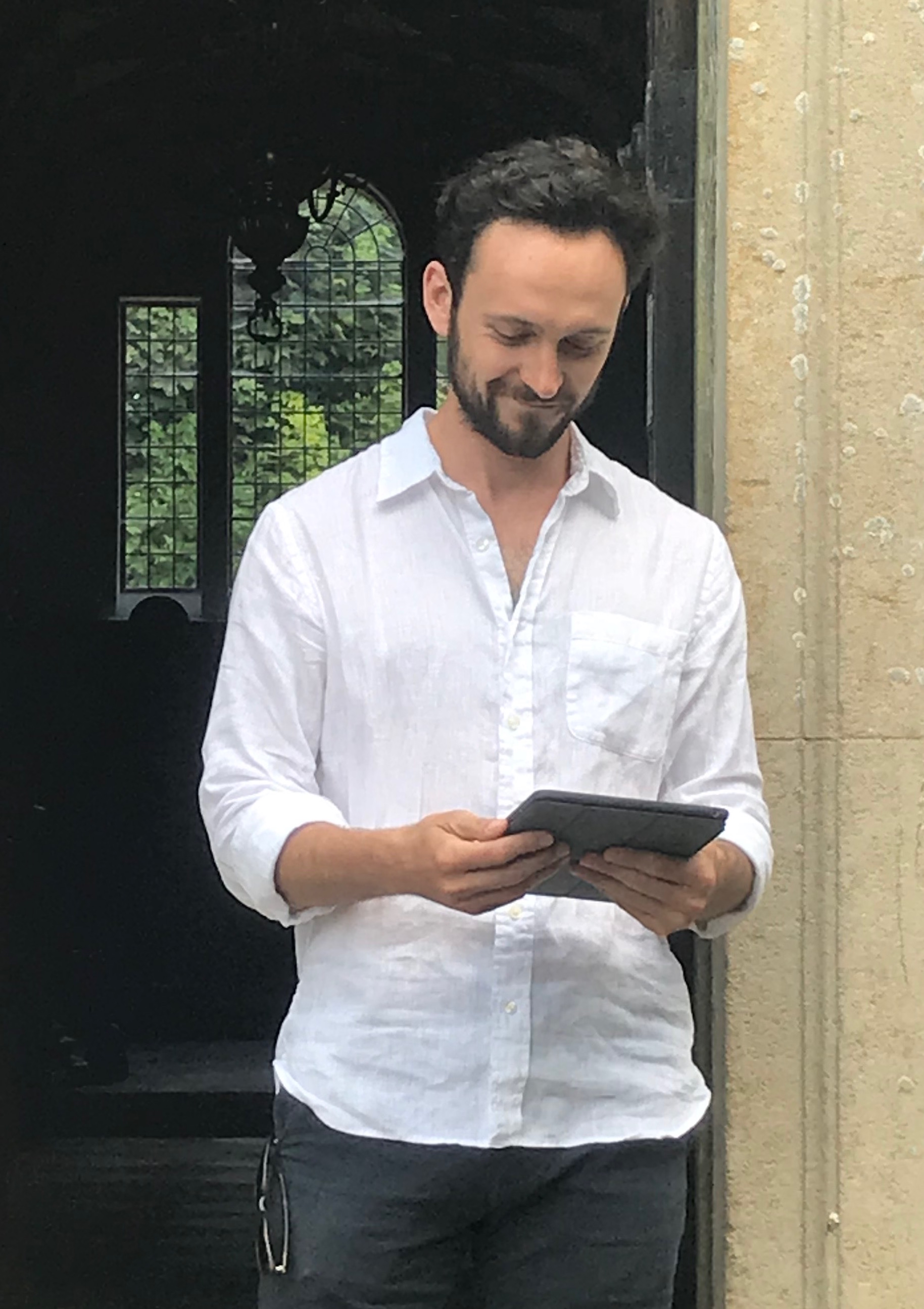 "George Blagden reads ""Little Gidding"" at Little Gidding"
